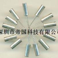 供应圆柱晶体石英晶振表晶32768K