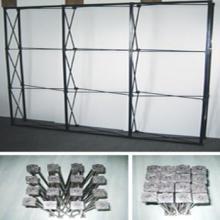 供应加强型铁拉网  拉网 展架 展示架 广州展示架  铁拉网图片