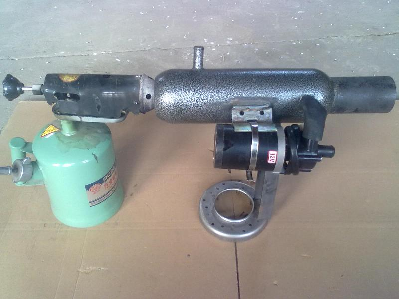 油箱加热器汽车燃油锅炉 供应车用喷灯小锅炉冬季各种柴油车辆防冻液图片