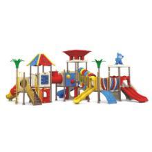 供应最新工程塑料幼儿大型玩具儿童游乐大型玩具室外大型组合滑梯价格批发