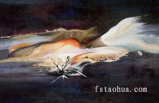 抽象画图片 抽象画样板图 现代抽象画大师 风尚陶画油画...