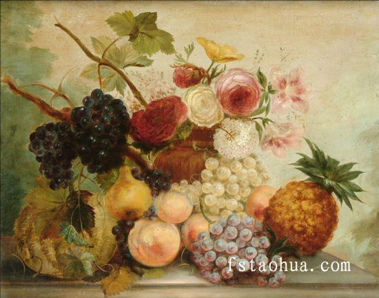 静物水果油画