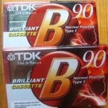 供应TDK空白录音带