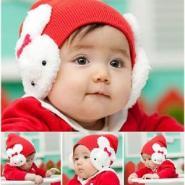 韩国秋冬宝宝帽子批发婴儿帽厂家图片