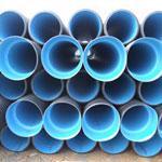 供应HDPE双壁波纹管胶卷接口