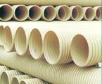 PVC双壁波纹管UPVC塑料管图片