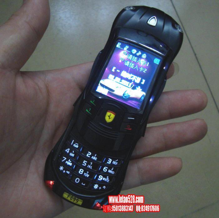 f699法拉利滑盖跑车手机图片 高清图片