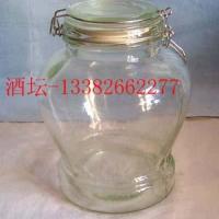 供应酒坛子酒桶玻璃瓶生产厂家出厂报价