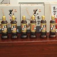 亳州香油瓶供应鹿邑芝麻油玻璃瓶