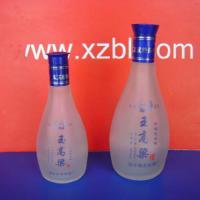 半斤九两蒙砂烤花酒瓶生产厂家 酒瓶 蒙砂酒瓶 半斤九两酒瓶 价格信息