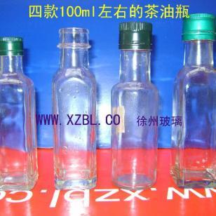 100ml毫升山茶油玻璃瓶生产厂图片
