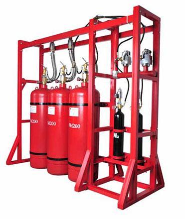 供应气体灭火设备充气