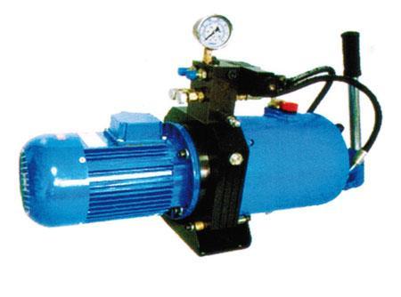 供应优质仕高玛搅拌机配件-卸料门液压油泵仕高玛图片