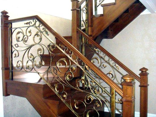 鸿博铁艺楼梯扶手图片图片