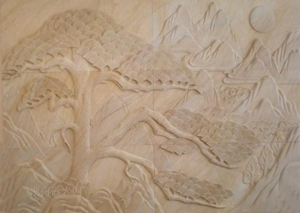 供应鸿博造欧式砂岩浮雕贴图