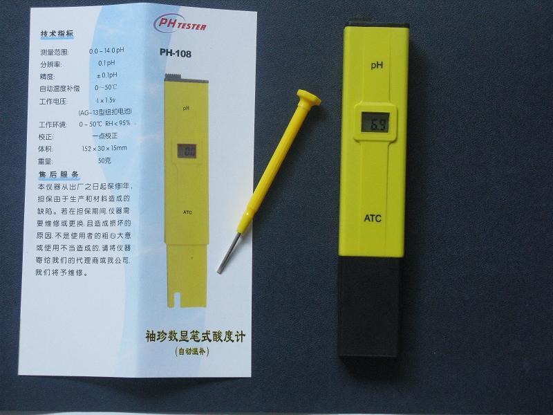 笔式PH计图片 笔式PH计样板图 杭州购买笔式PH计 酸度...