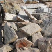 河南大理石矿山废石料基地图片