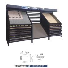 供应地面砖展示柜CZT-0962