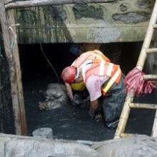 江西企业矿渣沉淀池工程,抚州企业矿渣沉淀池工程报价图片