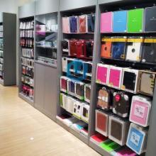 供应ipad平板电脑配件销售柜/苹果手机精品配件销售墙柜直销图片