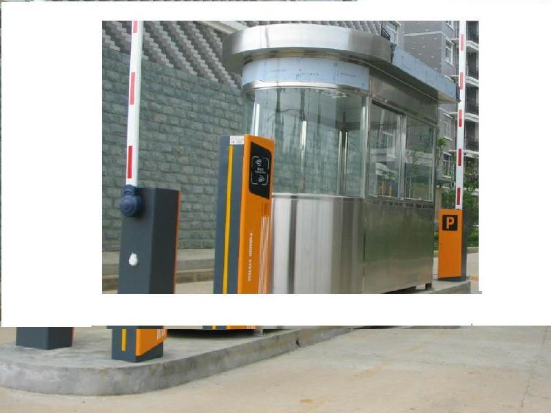 连云港岗亭道闸智能停车场系统图片