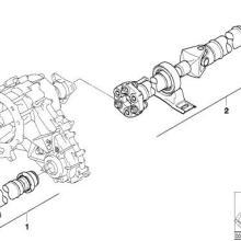 供应宝马X5传动轴