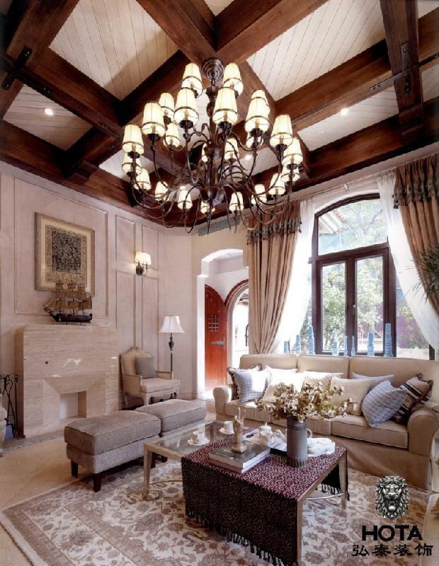 供应别墅装饰新美式风格图片