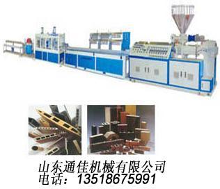 供应塑木加工机械/塑木材料加工机械