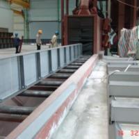 型钢钢板表面抛丸除锈清理机/型钢钢板表面喷丸除锈清理设备