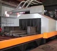 钢板,型钢,钢管多功能抛丸喷砂除锈清理设备