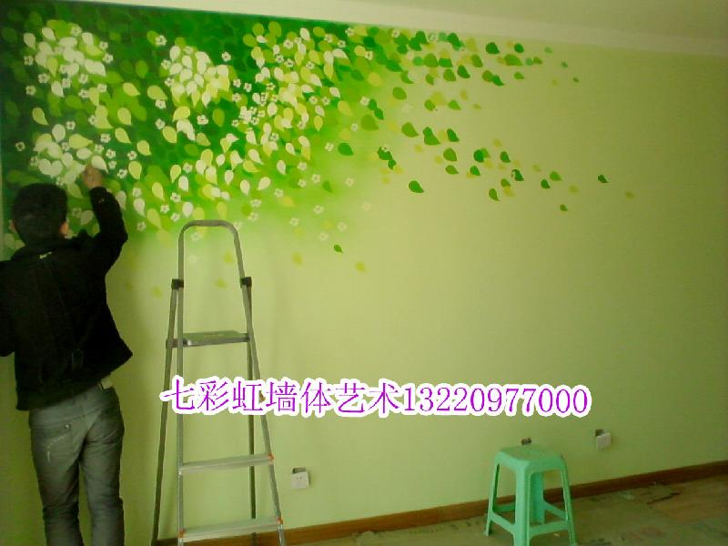 手绘墙图片 客厅手绘墙图片 弟子规手绘墙图片 手绘墙