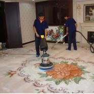 纯毛化纤混纺地毯清洗最专业图片