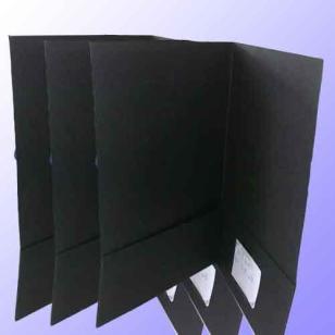 吊牌专用110G全木浆黑卡图片