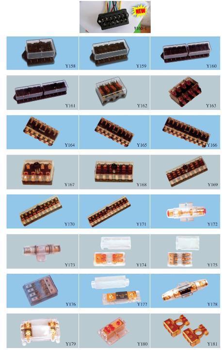 供应保险丝座yy-保险丝盒产品