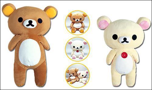 小熊毛绒玩具图片
