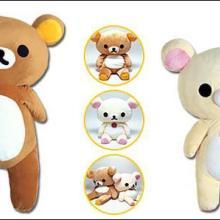 供应小熊毛绒玩具,【东莞市嘉锐公司】仔定制小熊公仔,Q板小熊