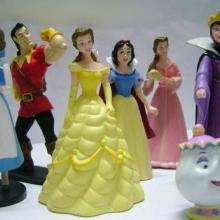 白雪公主娃娃制作,白雪公主人物公仔,七个小矮人中的白雪公主