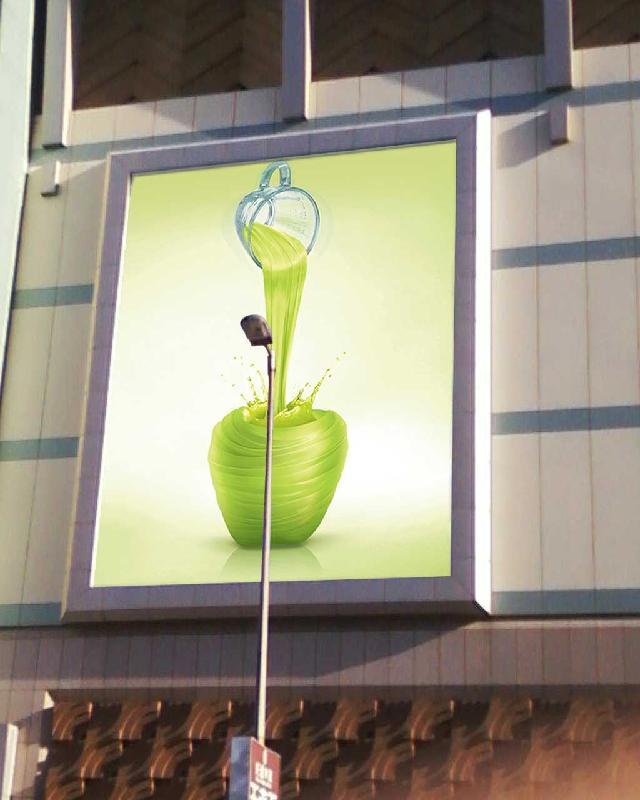 上海广告牌灯箱生产设计制作公司生产广告牌设