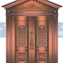 供应河南平顶山铜门平顶山别墅铜门纯手工打造豪华气派质优价廉图片