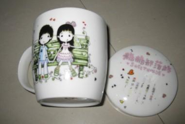供应深圳陶瓷杯订做