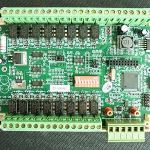 总线16路联动继电器主板图片