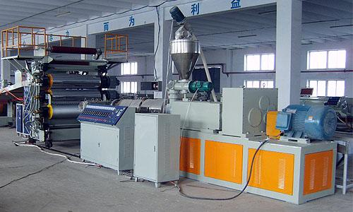 德州PVC木塑结皮发泡板生产线