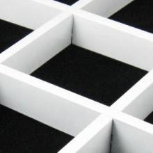 木纹色铝格栅安装价格、报价、供应商报价【鑫鹏达吊顶材料】批发