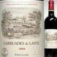 小拉菲2004年拉菲副牌干红葡萄酒图片