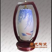 供应景德镇陶瓷台灯图片