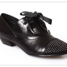 2011厂家直销温州鞋新款水钻中跟鞋真皮女鞋招代理批发批发