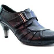 流行时尚真牛皮高跟舒适休闲女鞋图片