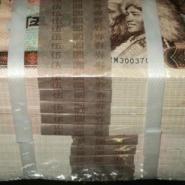 哈尔滨回收购香港20元整版钞图片