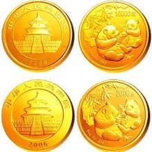 供应回收熊猫金银纪念币
