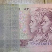回收第四版人民币二元